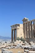 Part Of Erechtheum Ancient Temple