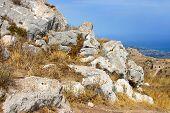 Pedra no Monte Acrocorinto