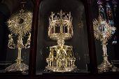 Treasure of Notre Dame de Paris Cathedral