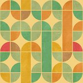 Retro abstract seamless Pattern mit nahtlose Textur