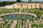 France, Garden Of The Versailles Palace Orangery