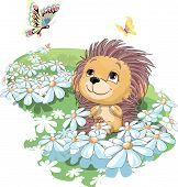 The Hedgehog And The Butterfly.eps