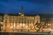 City Hall Of Bilbao, Bizkaia, Basque Country, Spain