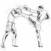 muay - kickboxing