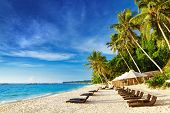 Tropical beach, Isla de Boracay, Filipinas