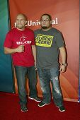 PASADENA, CA - JAN. 7: Hector Ramirez and Manny Rodriguez arrive at the NBCUniversal 2013 Winter Pre