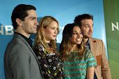 PASADENA, CA - JAN. 7: The cast of