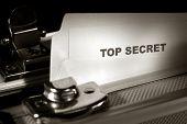 Top Secret Document In A Briefcase