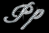 Diamante Bling Pp Letras