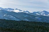 Beautiful Polish Tatra Mountains In Winter