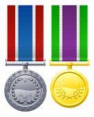 Medalhas de estilo militar