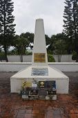 Monument of fallen French soldiers in Dien Bien Phu