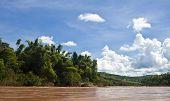 Countryside around Nam Ou river