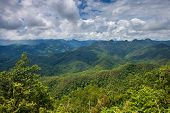 Mountains in northern Thailand