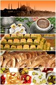 Turkish food and a variety of mosque