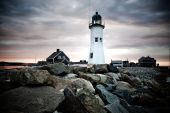 Americas 11Th Oldest Lighthouse In Scituate Massachusetts, Built In 1812