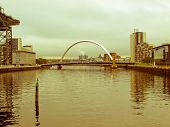 Retro Look River Clyde
