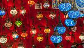 Turkish Lanterns At Grand Bazaar, Istanbul