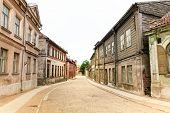 Old City Cobblestone Street