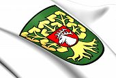 Troistedt Coat Of Arms, Germany.
