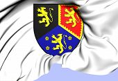 Dyfed Coat Of Arms, Wales.