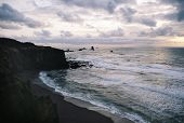 Oregon Pacific Ocean Beach, Northwest, USA