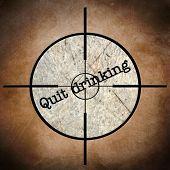 Quit Drinking Target