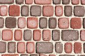 Sett Bricks, Texture Or Background, Stone Pavement