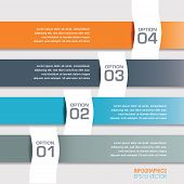 Four Modern Infographics Banners
