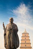Monk Xuanzang Statue