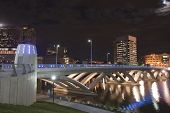 The new Rich Street Bridge in Columbus, Ohio