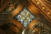 Canterbury Cathedral Looking Up