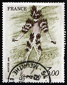 Postage Stamp France 1979 Fire Dancer