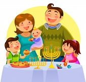 Hannukah celebration