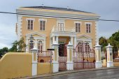 pic of curacao  - Historic Building on Willemstad - JPG