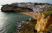 Carvoeiro In The Algarve In Portugal