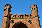 Rossgarten Gate Of Koenigsberg. Kaliningrad (until 1946 Konigsberg), Russia
