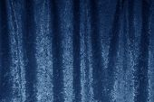 Abstract texture of a velvet curtain.