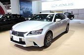 Nonthaburi - March 25: Lexus Gs 250 Car On Display At The 35Th Bangkok International Motor Show On M