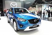 Nonthaburi - March 25: Mazda Mazda2 Car On Display At The 35Th Bangkok International Motor Show On M