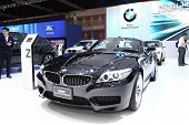 Nonthaburi - March 25: Bmw Z4 Sdrive20I Highline Car On Display At The 35Th Bangkok International Mo