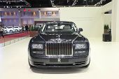 Bangkok - March 25 : Rolls Royce Phantom Extended Wheelbase Car On Display At The 35Th Bangkok Inter