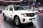 Nonthaburi - March 25: Nissan Navara Car On Display At The 35Th Bangkok International Motor Show On