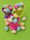 Small Colorful Eggs