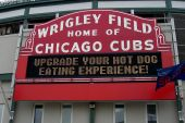Wrigley Field Sign - Chicago Cubs