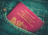 Jeans Pocket Passport