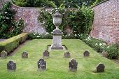 picture of headstones  - pets cemetery or graveyard or headstone of tombs or graves of pets