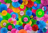 Colorful Paper Background.