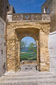 Porta St. Angelo. Montescaglioso. Basilicata. Italy.