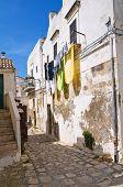 Alleyway. Montescaglioso. Basilicata. Italy.